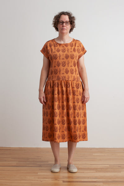 Women's Idaho Dress - Cactus Caramel