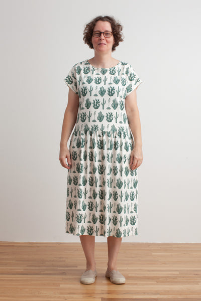 Women's Idaho Dress - Cactus Green
