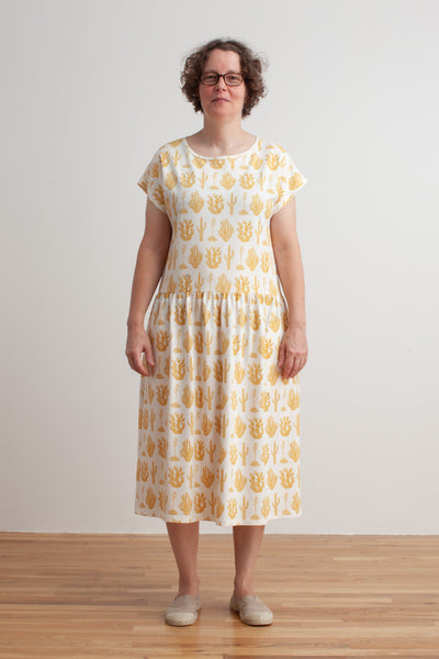 Women's Idaho Dress - Cactus Mustard