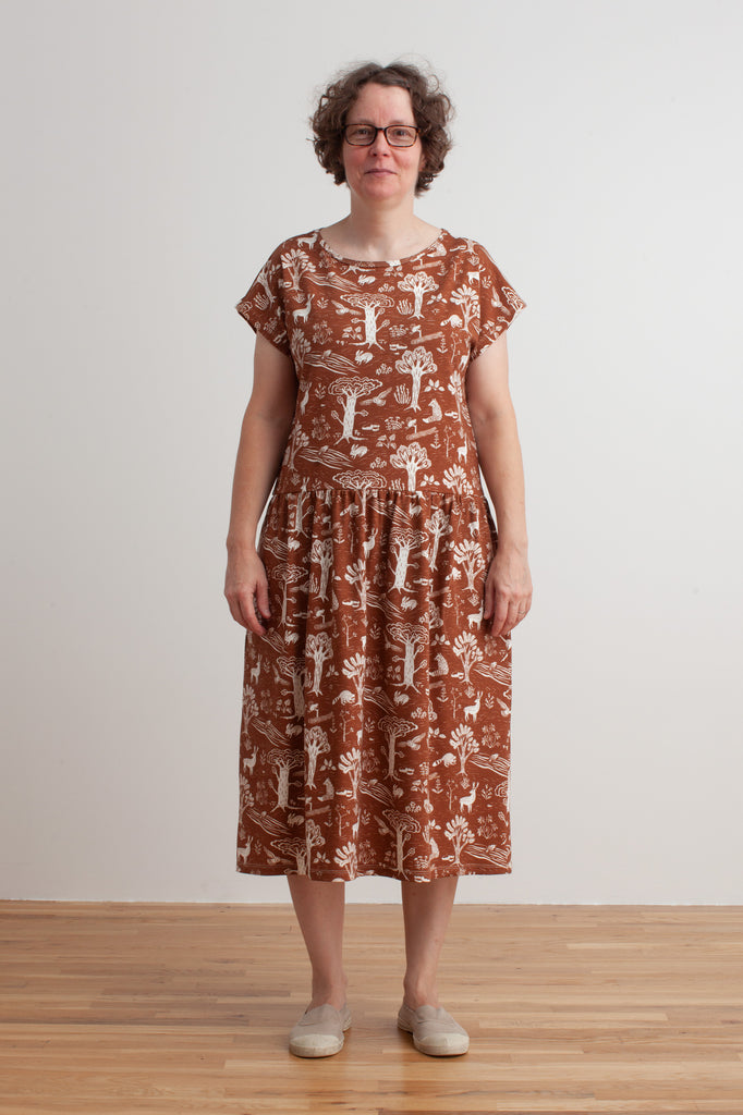 Women's Idaho Dress - In The Forest Chestnut