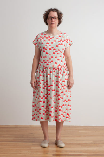 Women's Idaho Dress - Mushrooms Sage