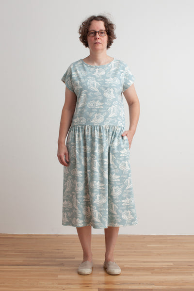 Women's Idaho Dress - Surfers Pale Blue
