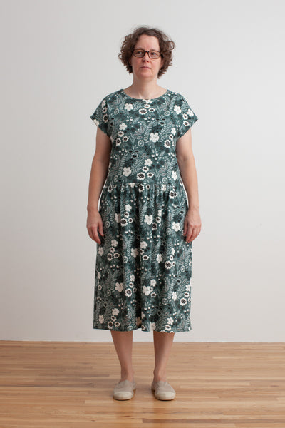 Women's Idaho Dress - Wildflowers Teal