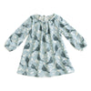 Juniper Baby Dress - Birds In the Trees Blue