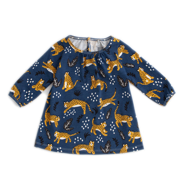 Juniper Baby Dress - Wildcats Navy