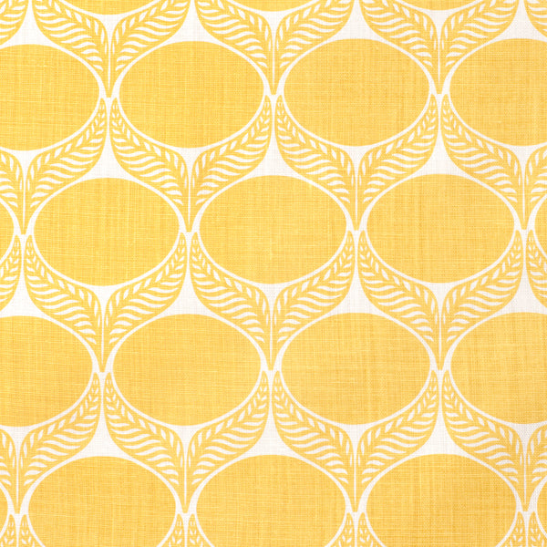 Belgian Linen - June Leaf Yellow