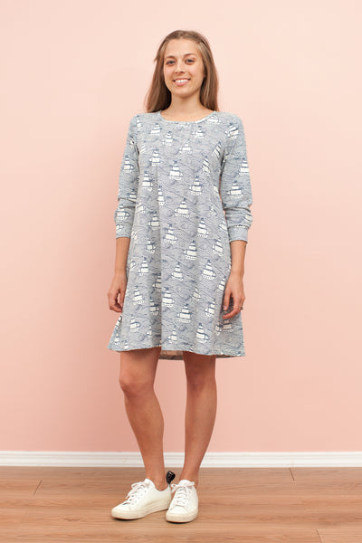 Women's Kingston Dress - High Seas Navy