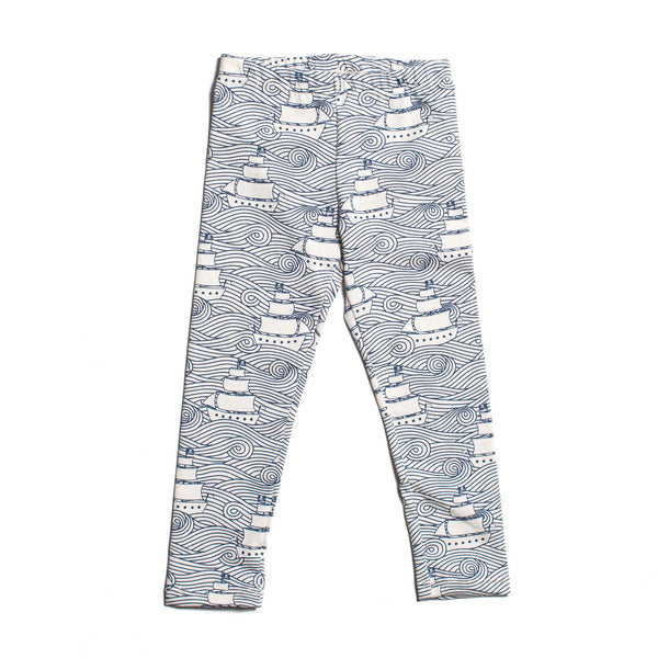 Baby Leggings - High Seas Navy