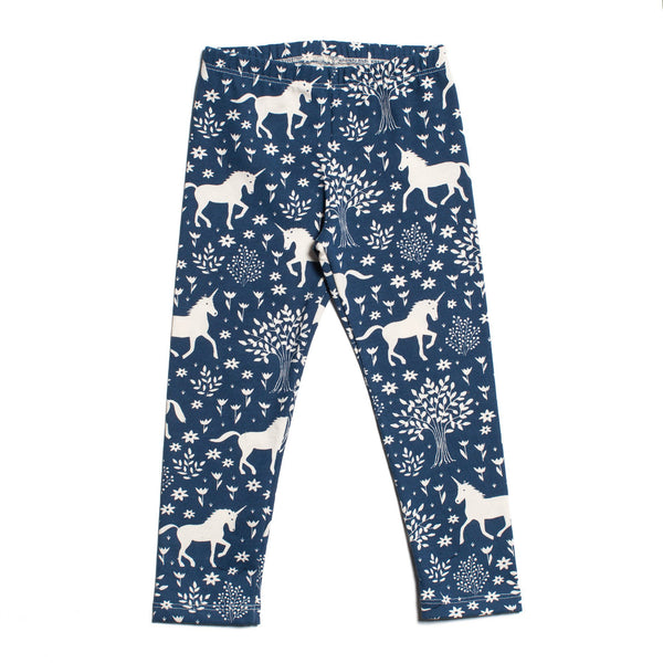 Baby Leggings - Magical Forest Navy