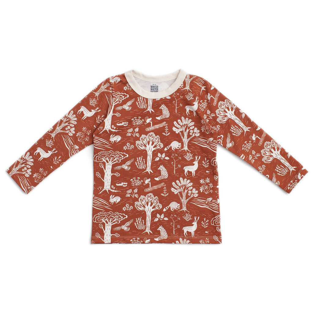Long-Sleeve Tee - In The Forest Chestnut