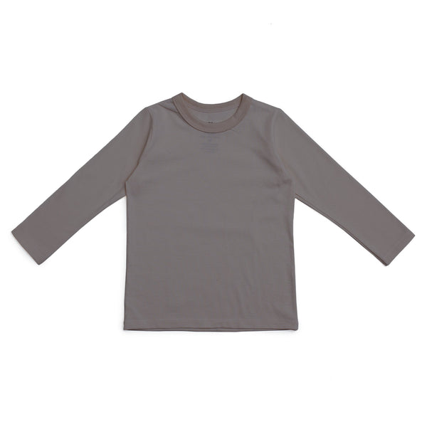 Long-Sleeve Tee - Solid Charcoal