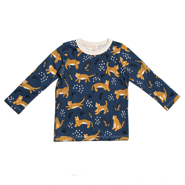 Long-Sleeve Tee - Wildcats Navy