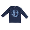 Long-Sleeve Tee - Earth Night Sky