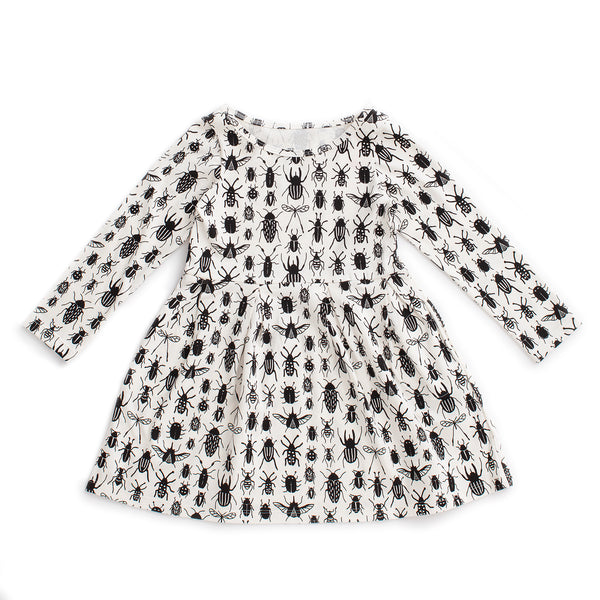 Madison Dress - Bug Collection Black