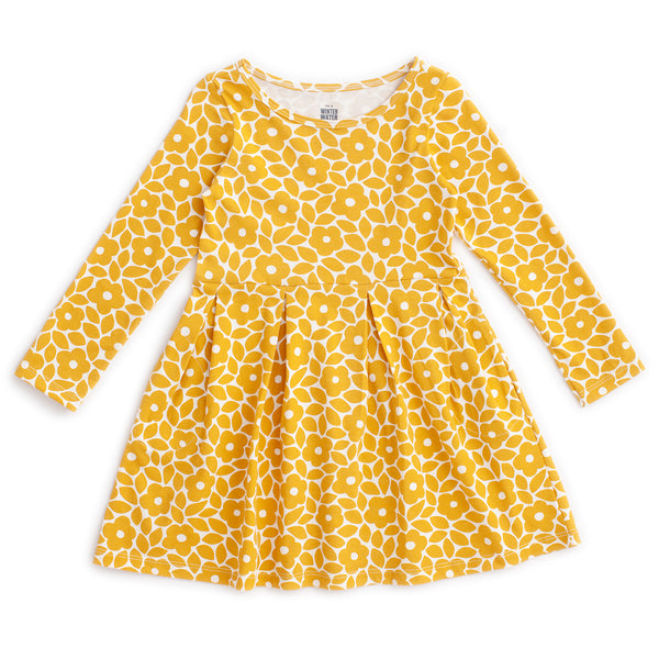 Madison Dress - Marrakesh Floral Yellow
