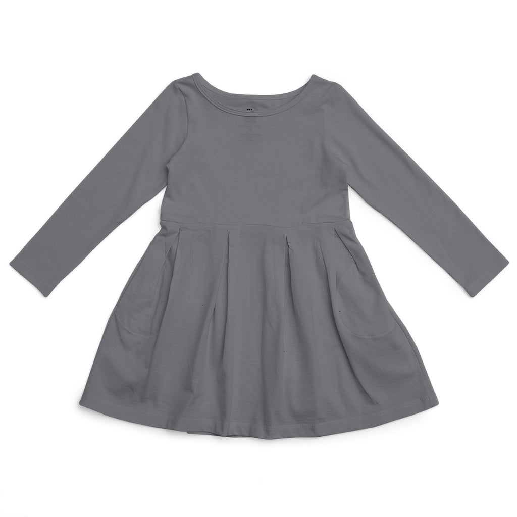 Madison Dress - Solid Charcoal