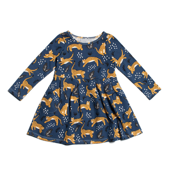 Madison Dress - Wildcats Navy