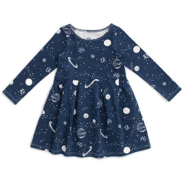 Madison Dress - Planets Night Sky