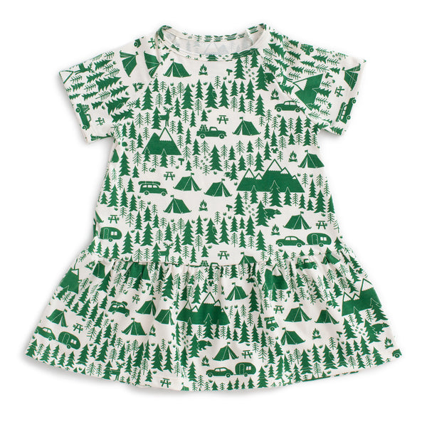 Milwaukee Dress - Campground Green