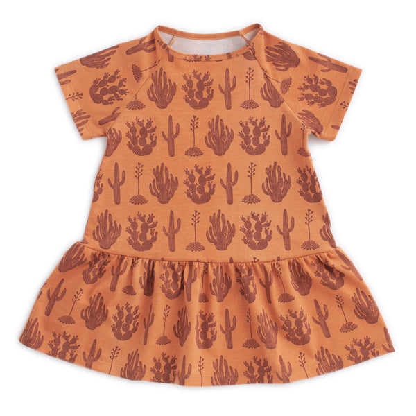 Milwaukee Dress - Cactus Caramel