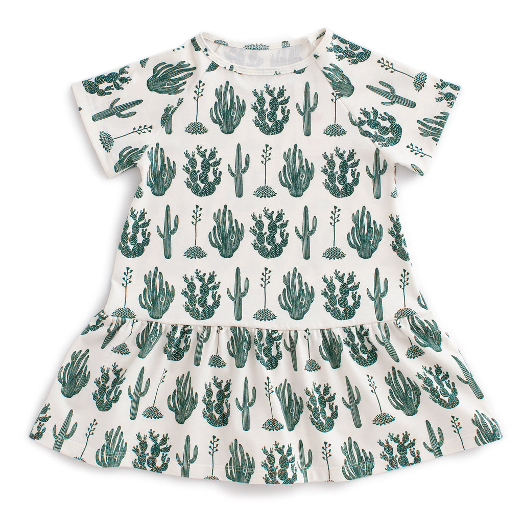 Milwaukee Dress - Cactus Green