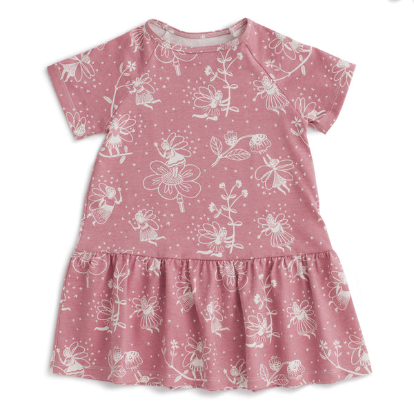 Milwaukee Dress - Fairies Dusty Pink