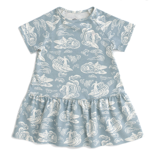 Milwaukee Dress - Surfers Pale Blue