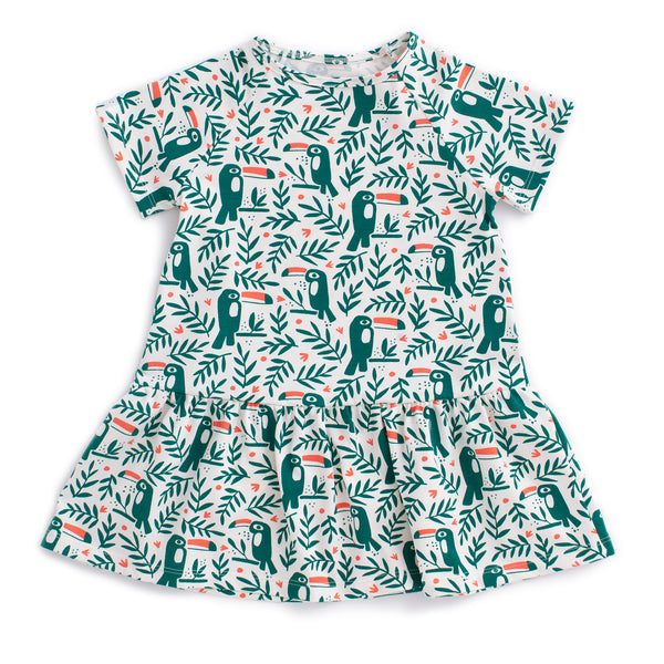 Milwaukee Dress - Toucans Green
