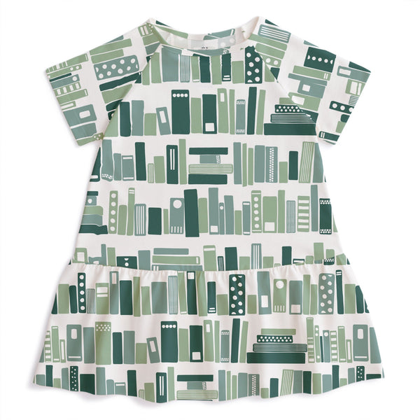 Milwaukee Dress - Bookshelf Teal