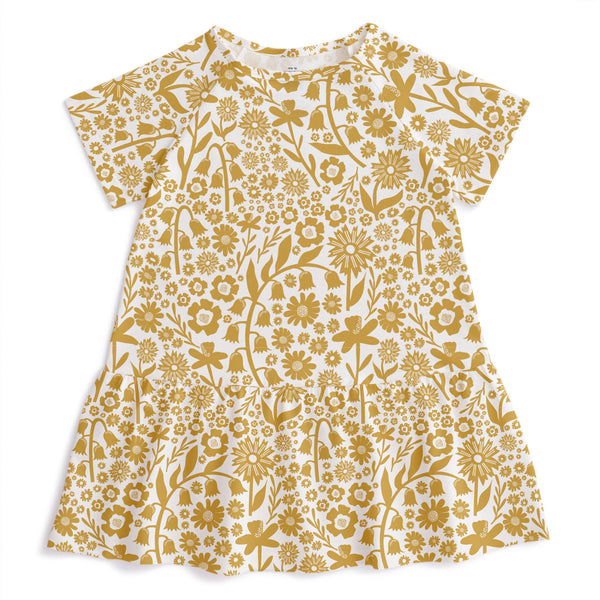 Milwaukee Dress - Dutch Floral Yellow