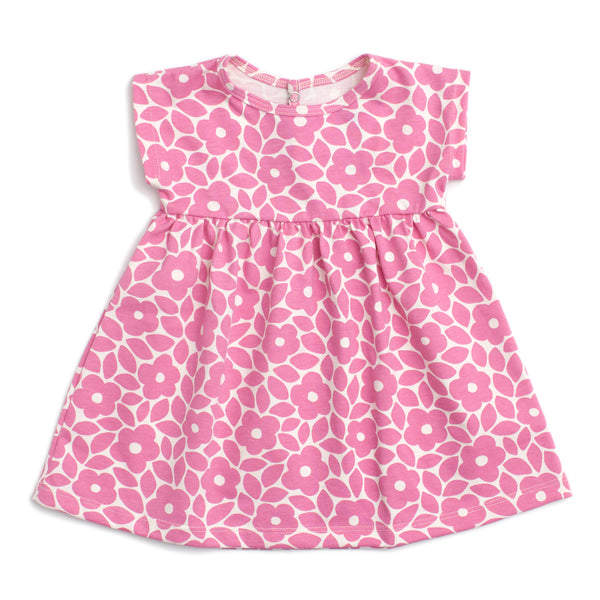 Merano Baby Dress - Marrakesh Floral Dusty Rose