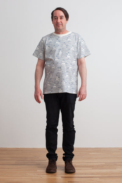 Mason Tee - High Seas Navy