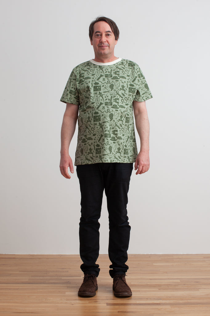 Mason Tee - Nature Explorer Forest Green