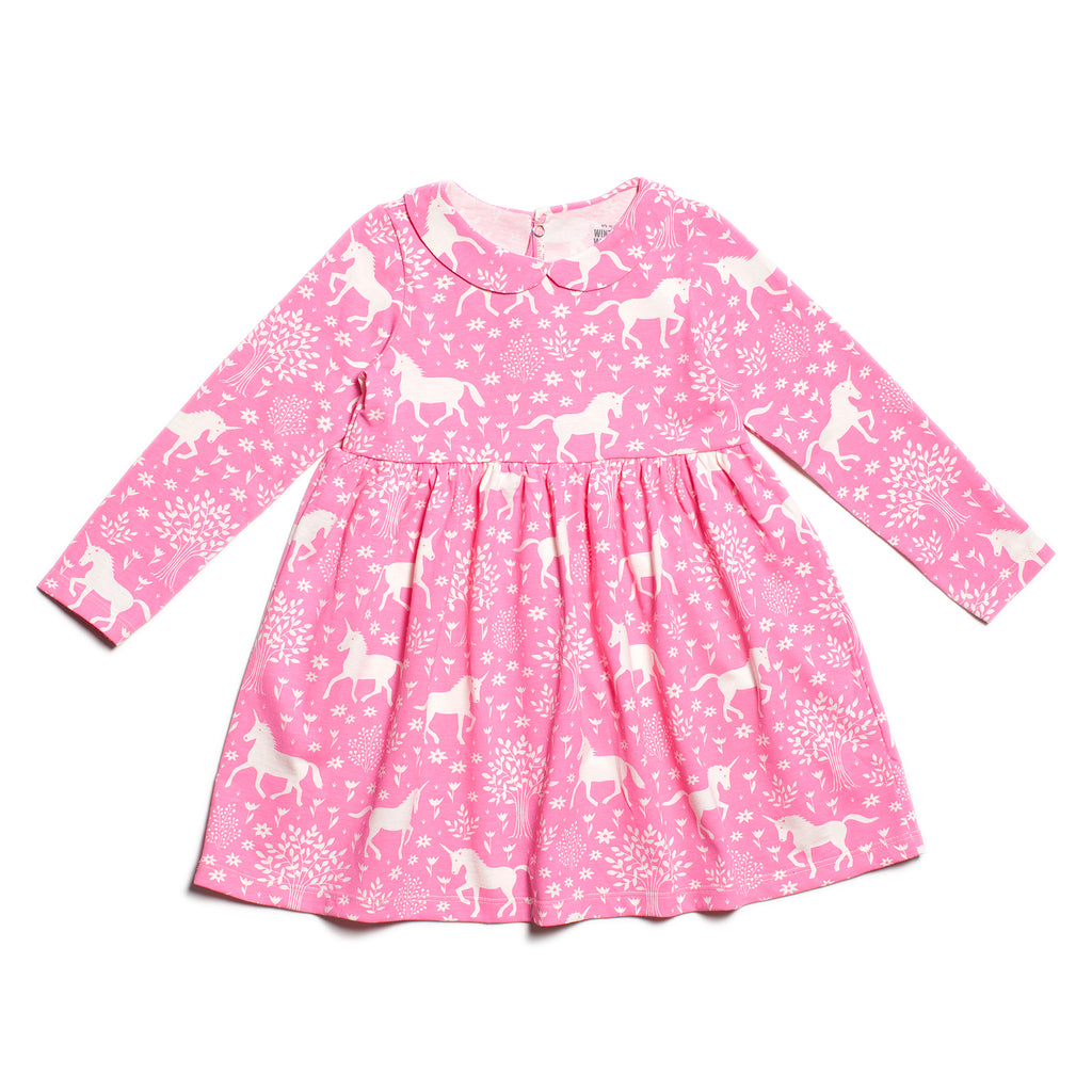 Nashville Dress - Magical Forest Pink