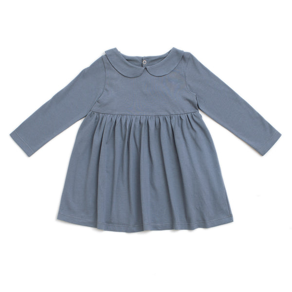 Nashville Dress - Solid Slate Blue
