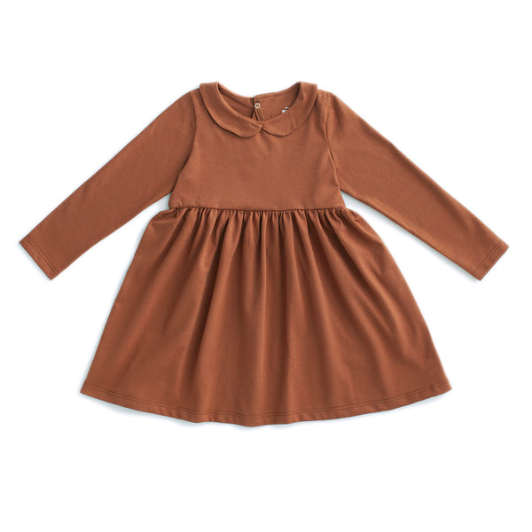 Nashville Dress - Solid Chestnut