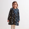 Nashville Dress - Elderberry Night Sky & Slate Blue