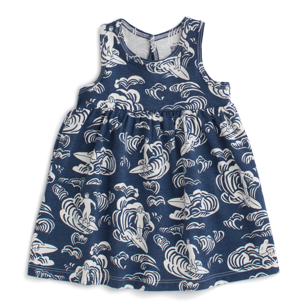 Oslo Baby Dress - Surfers Navy