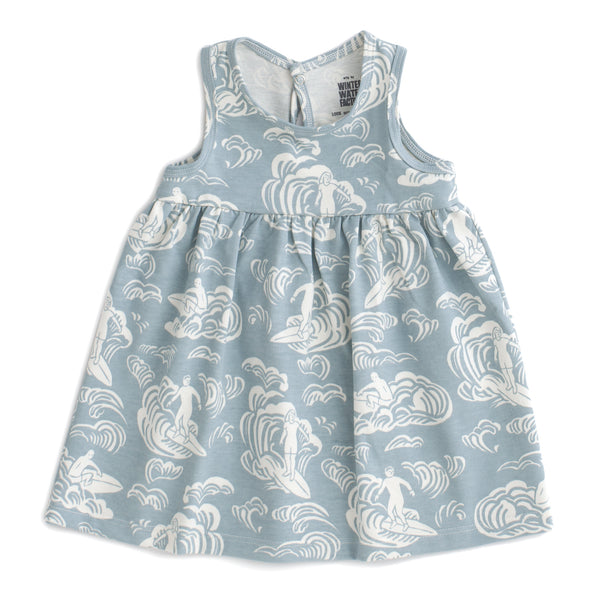 Oslo Baby Dress - Surfers Pale Blue