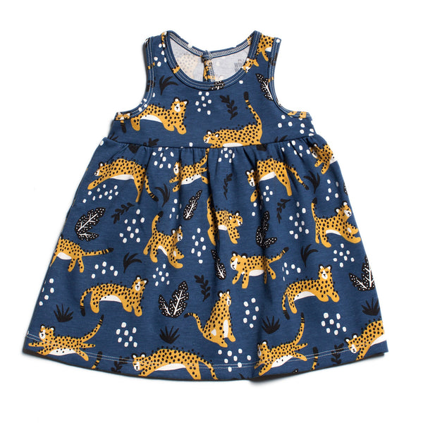 Oslo Baby Dress - Wildcats Navy