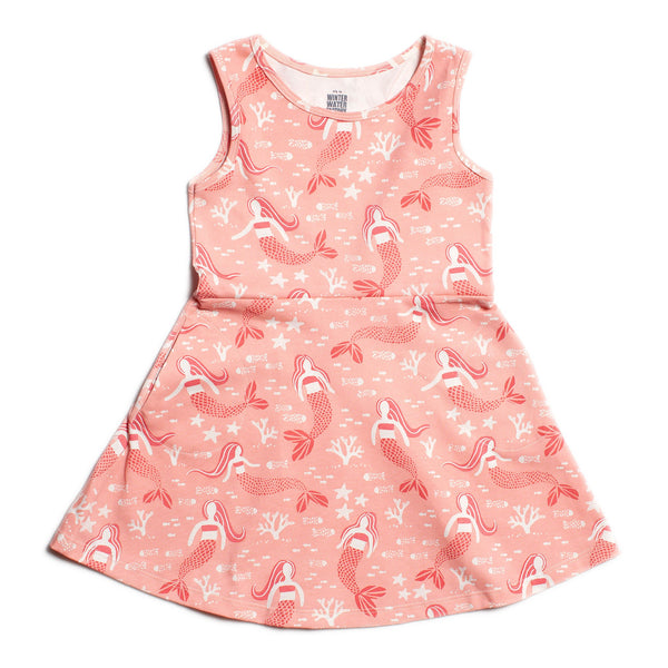 Paris Dress - Mermaids Pink