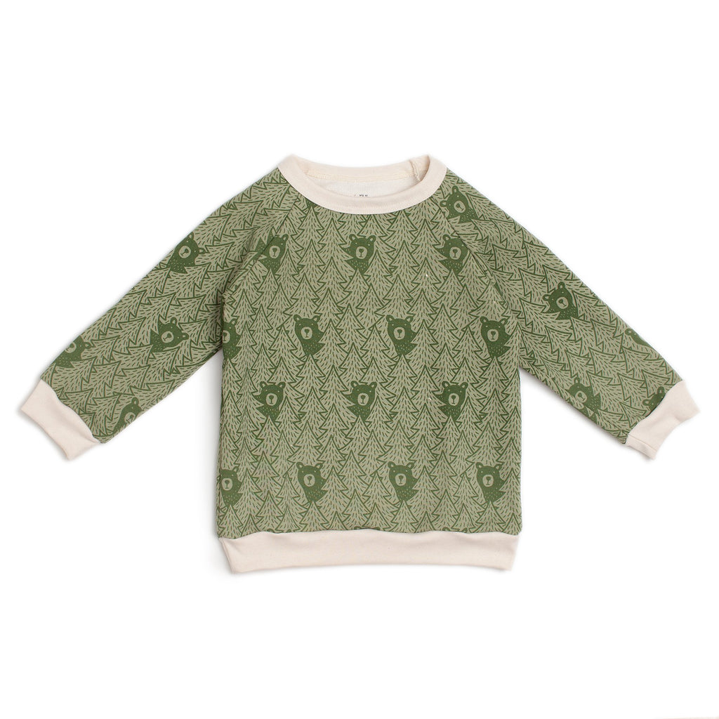 Sweatshirt - Bears Sage