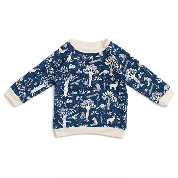 Sweatshirt - In The Forest Navy