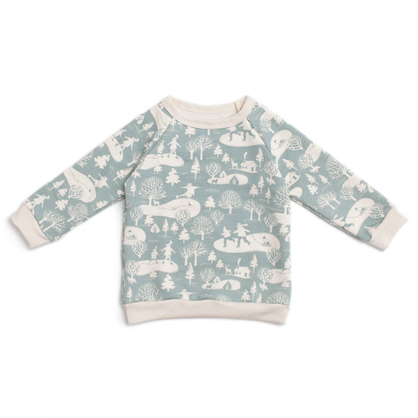 Sweatshirt - On The Ice Pale Blue
