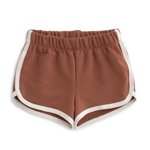 French Terry Shorts - Solid Chestnut