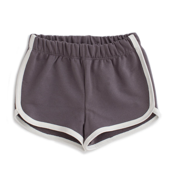 French Terry Shorts - Solid Charcoal