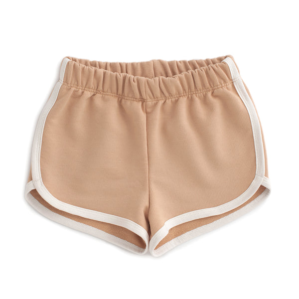 French Terry Shorts - Solid Camel