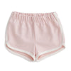 French Terry Shorts - Solid Pink