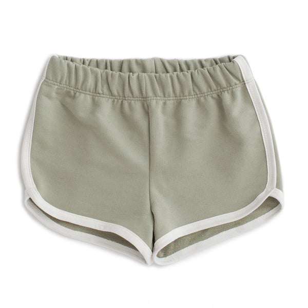 French Terry Shorts - Solid Sage