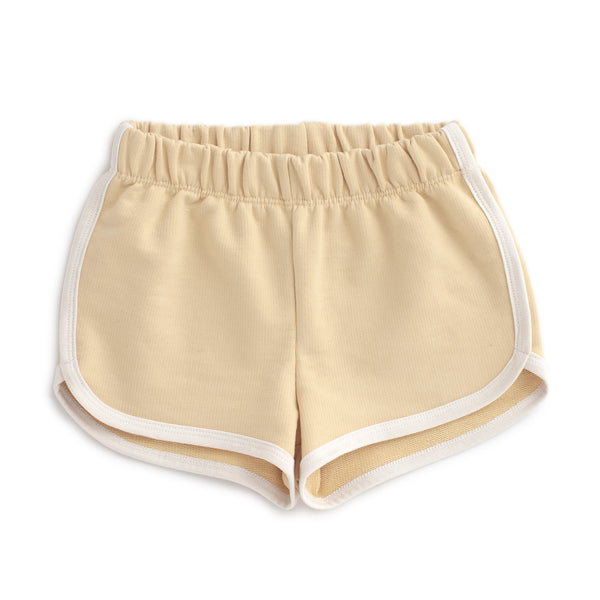 French Terry Shorts - Solid Yellow